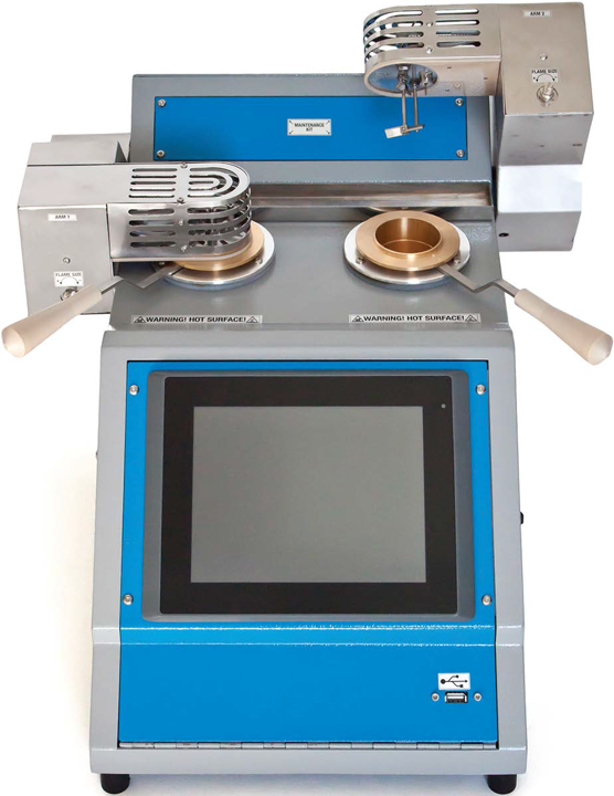Pensky Martens Flash Point Tester-front view